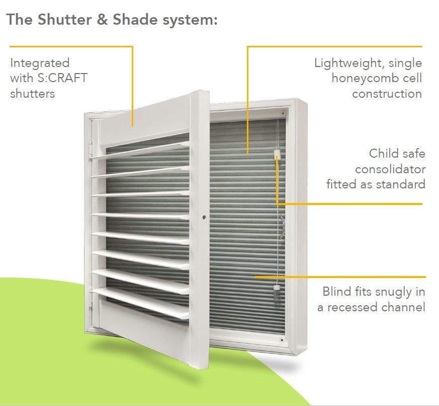 shutter shade system